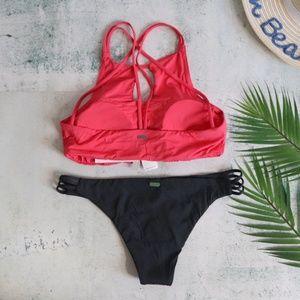 Roxy Swim - Roxy | Softly Love Strappy Two Piece Bikini L
